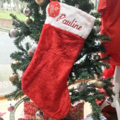 Personalised Deluxe Super Jumbo Christmas Stocking